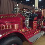 One of the old fire engines
