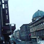 Glasgow Film Theatre, Canopy.  Glasgow, Scotland.