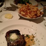 Steak at Delmonico, at the Venetian, Las Vegas