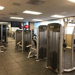 Gym- exercise machines and weights