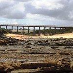 Wooden Trestle Bridge - Wonthaggi Rail Trail. Taken at low tide, easy walk from Ocenview Retreat