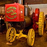 Jumbo ... Harrison Steam Engine built in Bellleville, IL 1895.