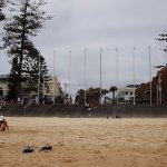 Manly Beach @ the end of the Corso