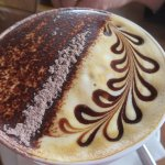 Decorative cappuccino
