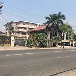 Hotel Windsor  Front View from Shin Saw Pu road, San Chaung township, Yangon Myanmar