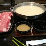Pork Bone broth with Wagyu