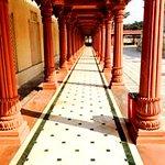 Akshardham Temple 's corridor
