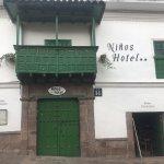 Entrance to Niños Hotel