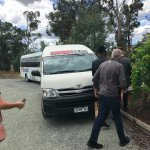 Getting on the Winebus