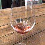 Helen & Joey wine glass