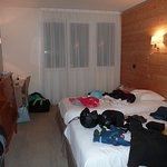 chambre spacieuse et correcte