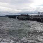 View of Port Townsend ferry terminal.