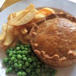 Best steak & ale, lovely pastry (ask for more gravy)