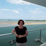 View from 7th floor across the Maroochy River