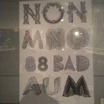 Een aantal foto's in het museum
