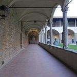 Courtyard of Santa Croce