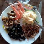 assiette de la mer (au menu)