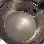 Sink & Rubber plug
