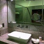 Modern bathroom of Double Pool Facing Superior Room