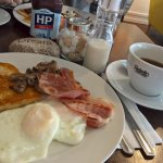 ... the 5-piece Ulster fry, with coffee and refill!
