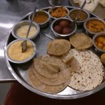 Unlimited Thali with sweets
