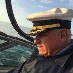 Captain jack enjoying Matlacha sunset , Captain jack boat tours.