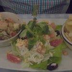 Prawn./Shrimp Saganaki