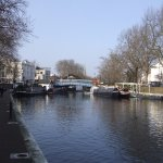 Little Venice at beginning of Regents canal walk to London zoo.