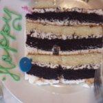 Half piece of cake
