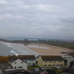 Fistral beach view