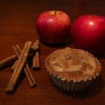 Apple Caramel with Cinnamon Cheesecake