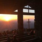 Sunrise from Symmes Chapel
