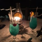 Fabulous drinks by the beach