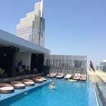 piscine au 25iéme étage