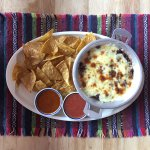 Gluten free bean and cheese dip at The Salsa Kitchen in Chiang Mai