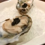 Oysters and caviar.