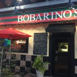 Early evening entrance to Bobarino's