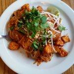 Tofu Pad Thai, Vegan