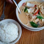 Panang Chicken, great flavors