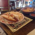 Sonoran hot dogs and beer