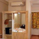 Wooden furnitures inside rooms