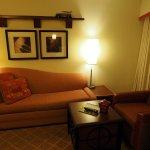 The den in room 328