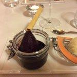 Dessert poire au vin