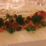Assiette de légumes concoctée spécialement