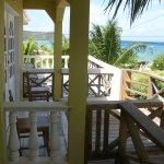 Balconies overlooking Caribbean & Mayreau Island
