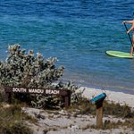 Give Stand Up Paddle Boarding a shot, photo by our Manager Paul Bester