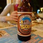 das selbstgebraute Bier