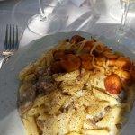 buffet, individually made pasta