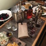 Room service offers an in-room bartender. They'll either make you your drinks or you can do it y