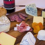 A selection of cheeses we use for our summer and fall Gourmet Cheese Plates.